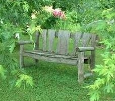 Image of Rustic Garden Bench